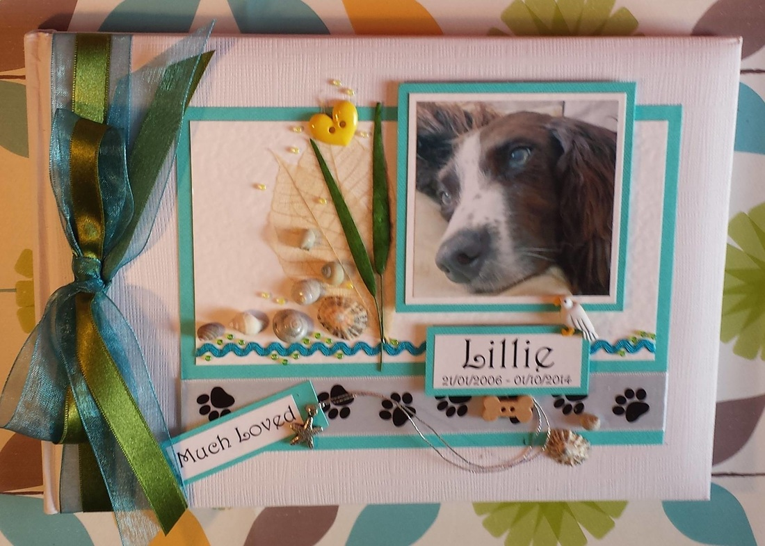 Beloved Pet Memory Keepsake Book.