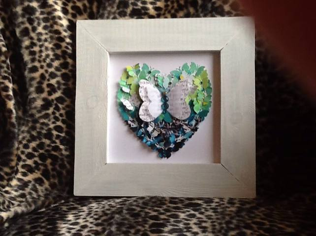 Butterfly Collage Art for Sale UK.
