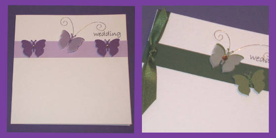 Butterfly Wedding Invitations.