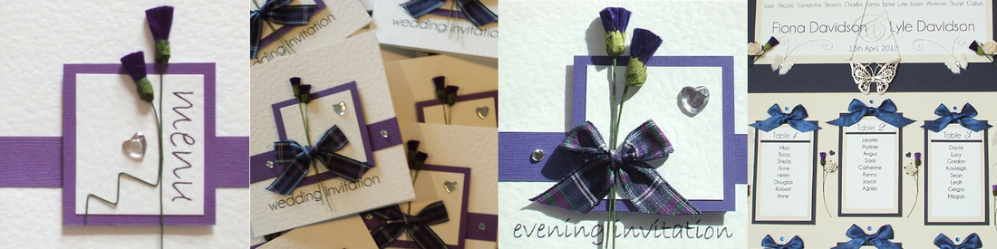 Scottish Wedding Invitations