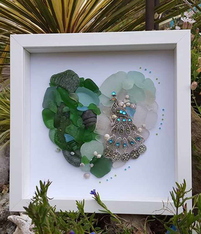 Scottish Sea Glass Art
