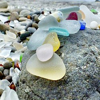 Sea Glass Art.